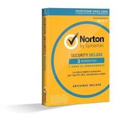 Norton Antivirus 3.0 Deluxe 3 Device 12 mesi